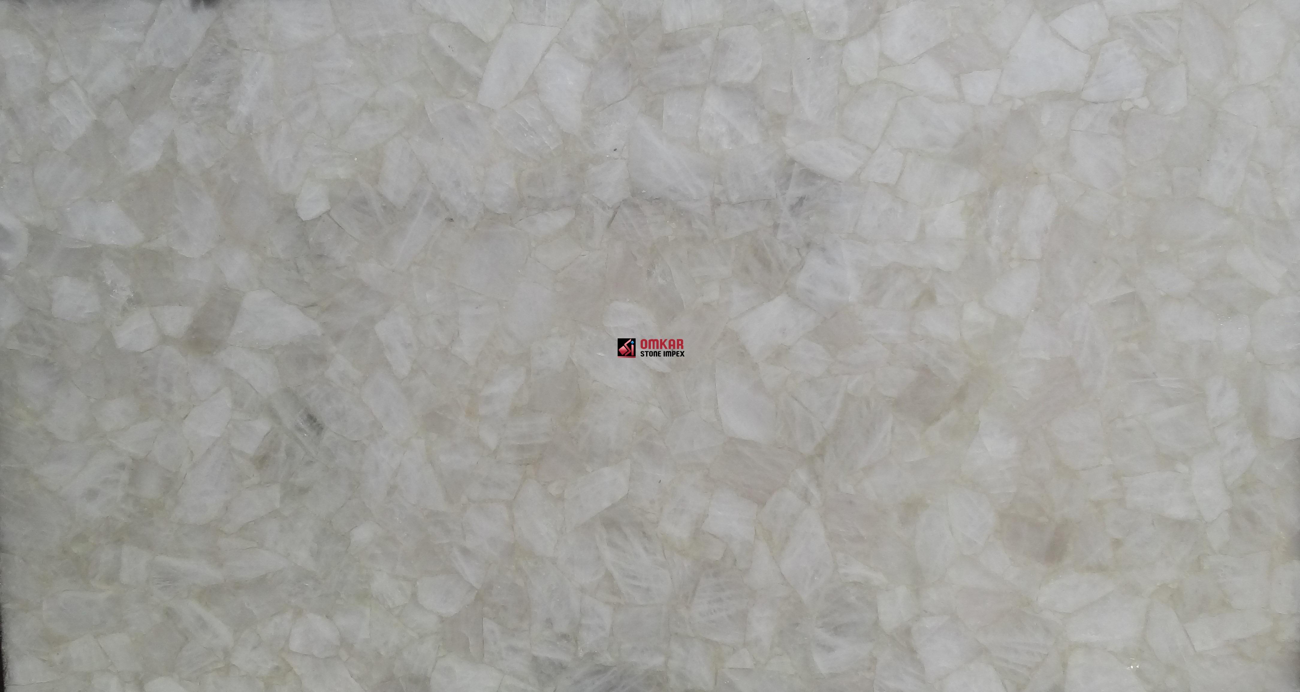 White Quartz Transparent